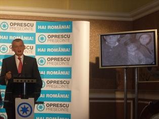 Oprescu: România suferă de sărăcie, de proastă guvernare şi de corupţie