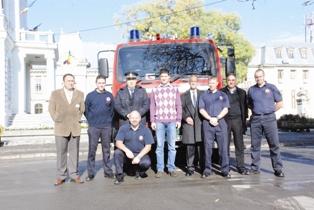 Englezii din Norwich au donat Primăriei Târgovişte o autospecială pentru situaţii de urgenţă
