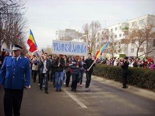 Paradă militară de amploare, dedicată Zilei Naţionale, în Ialomiţa
