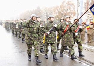 Paradă militară de 1 Decembrie la Ploieşti