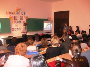 """Eveniment intercultural la Colegiul Agricol """"Sandu Aldea"""" din Călăraşi"""