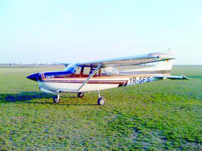 Aterizare reuşită în Clinceni, la a şaptea încercare