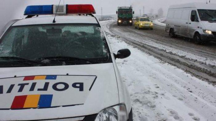 Prahova  – Patru soferi au ramas fara permise dupa ce au ignorat filtrele rutiere si au intrat pe drumuri inchise