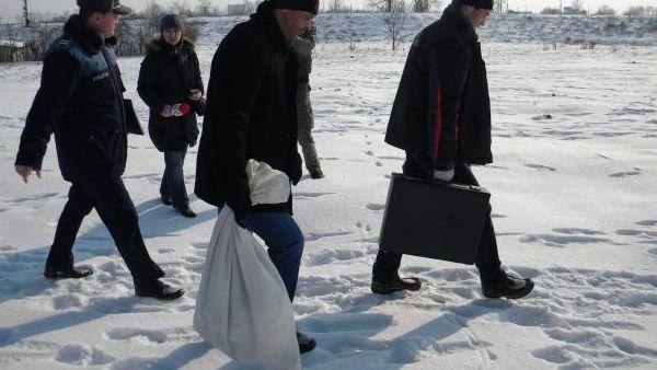 Prahova – Un cioban a gasit un fat mort intr-o geanta