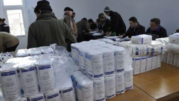 Buzau – Peste 200 de sinistrati au primit ajutoare din Spania