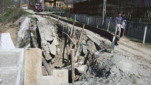 Prahova – Case de vacanta afectate de alunecari de teren la Breaza