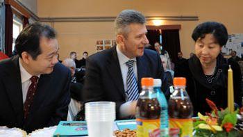 Ilfov – Ambasadorul Chinei in Romania, Huo Yuzhen, in vizita in orasul Voluntari
