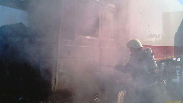 Calarasi – Incendiu izbucnit la sediul Circumscriptiei Sanitar Veterinare