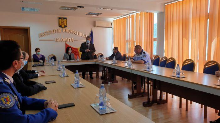 A fost învestit cel de-al doilea subprefect al județului Ialomița, doamna Ionescu Tudorița
