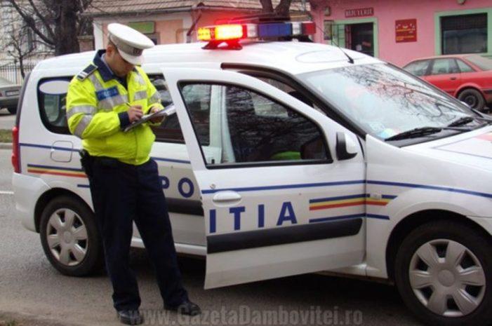 Un bărbat din Șotânga, depistat de polițiști în timp ce conducea un autovehicul, deși nu poseda permis de conducere pentru nicio categorie de vehicule