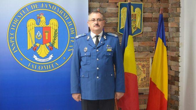 Locotenent-colonelul Nicu Laurențiu este noul șef al Inspectoratului de Jandarmi Județean Ialomița