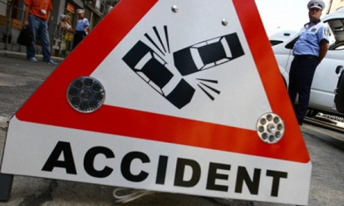 Movilița: accident de circulație soldat cu vătămarea corporală a unei persoane.