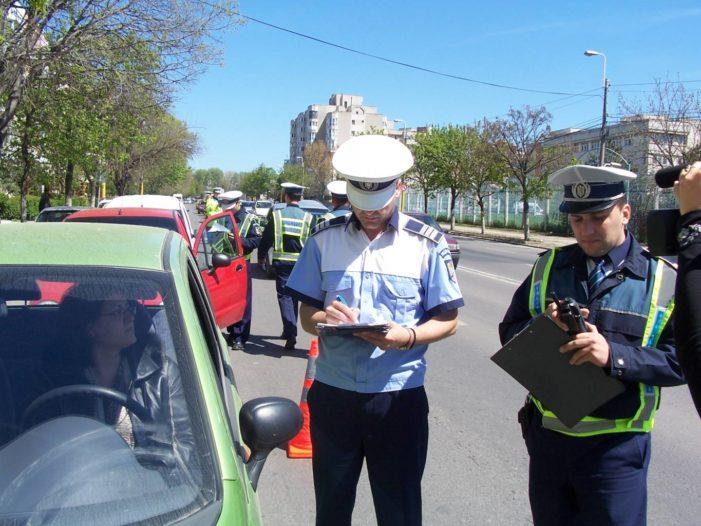 Acțiune rutieră pe drumurile naționale din județ