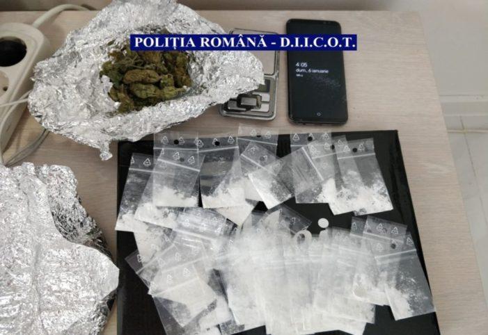 Trafic de droguri de risc și de mare risc pe raza municipiului Călărași