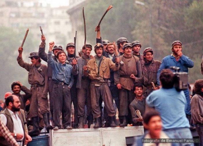 30 de ani de la Mineriada din 13 Iunie 1990