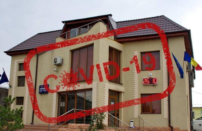 Covid19 lovește și Primăria Dobroești