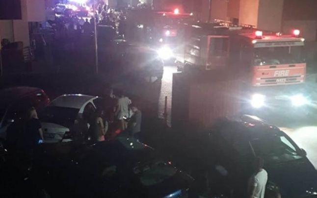 Explozie într-un bloc din Popești-Leordeni: 5 apartamente au fost grav avariate