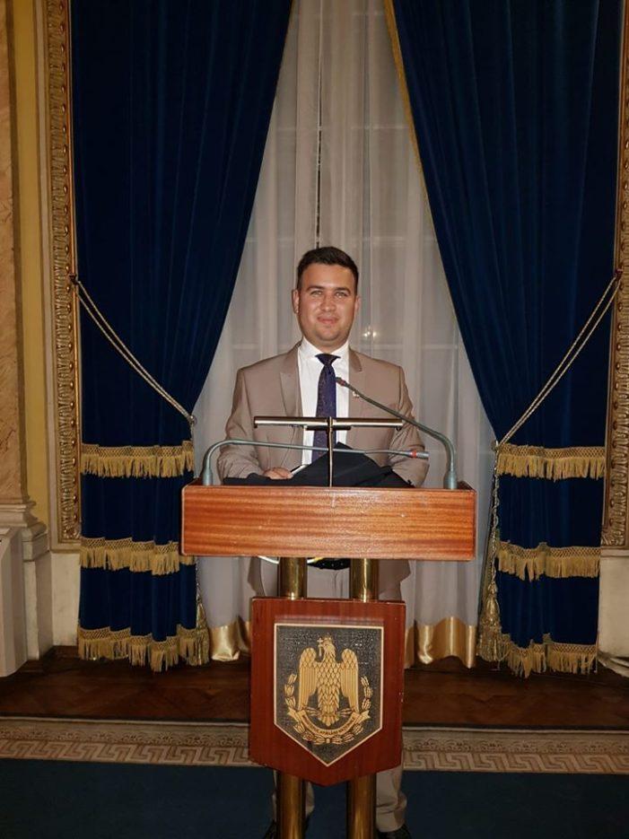 Consilier local din Dobroesti, tras pe dreapta de ANI