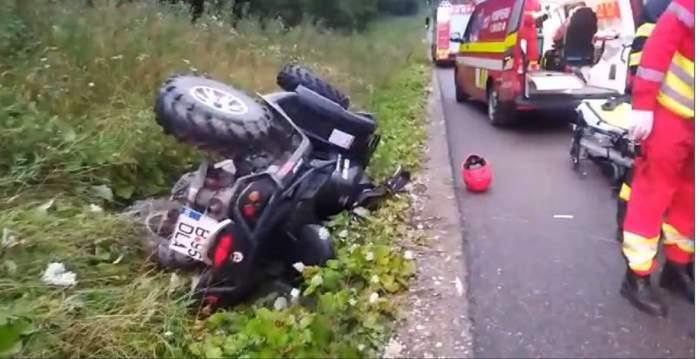 O femeie a fost grav rănită într-un accident cu ATV-ul, la Buşteni