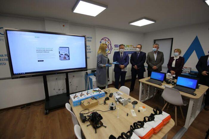 SmartLab a fost inaugurat în Călărași