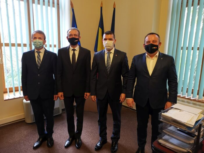 Consulul General al Republicii Turcia la Constanţa, în vizită la Călăraşi