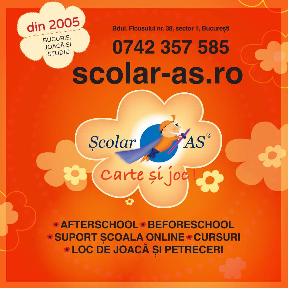 Afterschool și Before School zona Băneasa