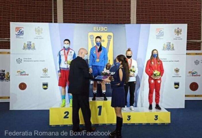 Loredana Marin, de la CSM Călărași, a triumfat la Campionatele Europene de juniori