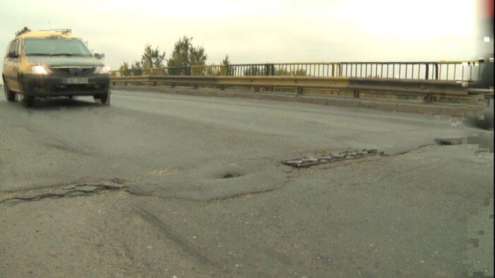 Se va relua circulația rutieră pe podul de la Slobozia