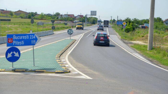 Constructorul Drumului Expres Craiova – Piteşti a fost sancționat din cauza stării variantelor de serviciu