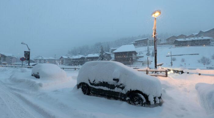 Cod galben de ninsori abundente în Giurgiu