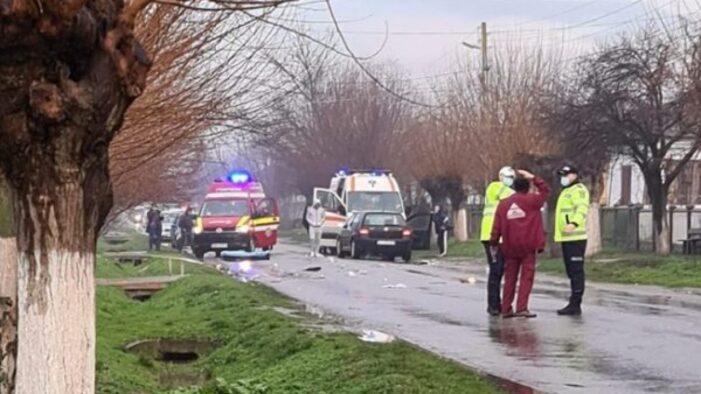 Olt: O femeie, pieton, a decedat într-un accident rutier grav petrecut în localitatea Brebeni