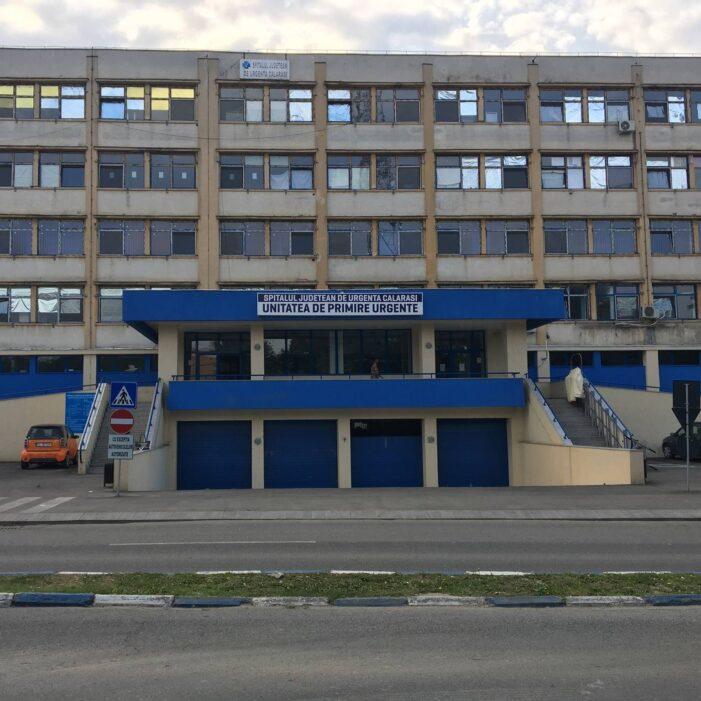 În luna martie vor începe lucrările la noul corp al spitalului din Călăraşi