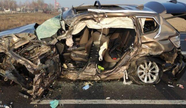 A fost activat Planul roşu de intervenţie în cazul unui accident rutier soldat cu zece victime