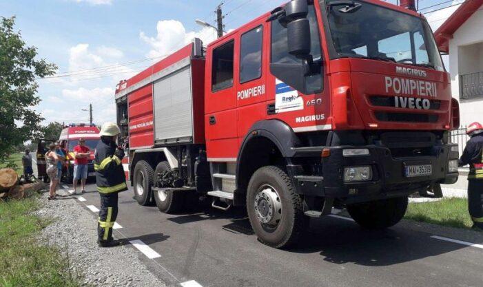 S-a deschis un dosar penal în cazul incendiului de la fabrica de produse pe bază de petrol din comuna Colceag